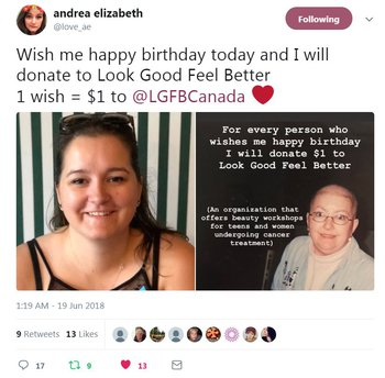 Daughter Turns Birthday Wishes Into Gift For Women With Cancer