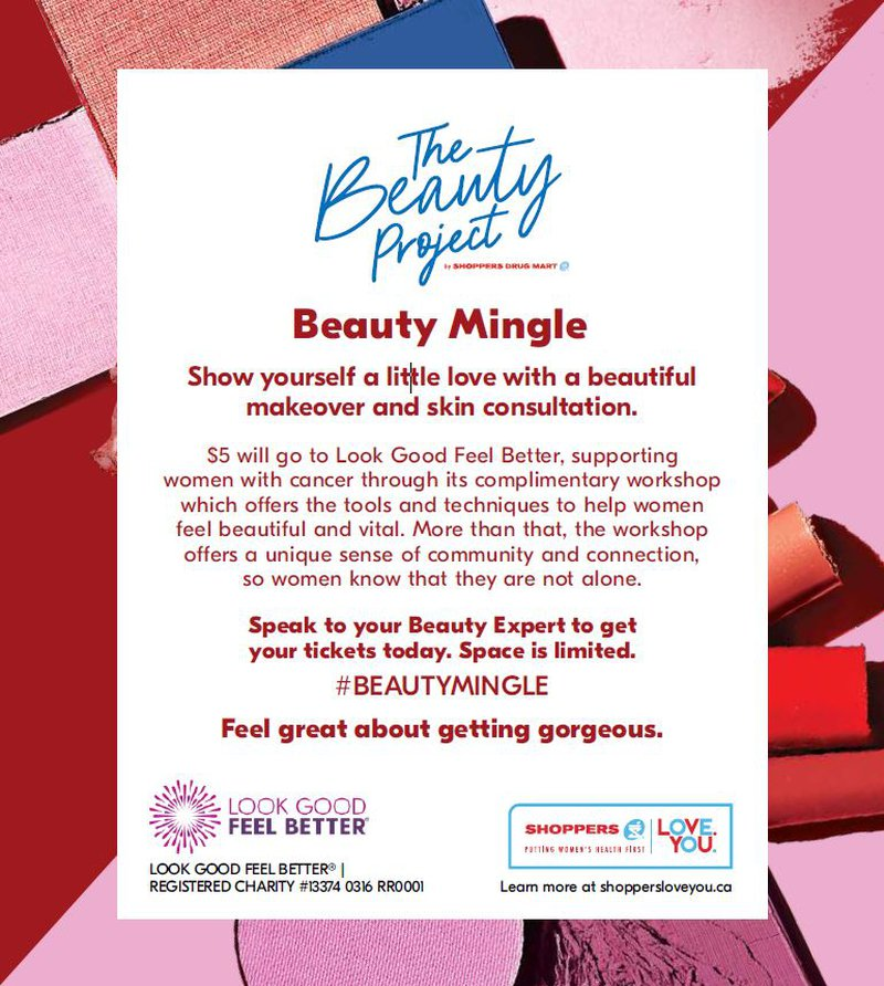 Shoppers Drug Mart Beauty Mingle